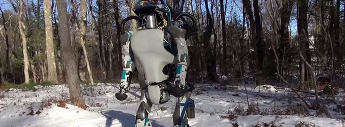 Este es el nuevo robot de Boston Dynamics, y es realmente sorprendente